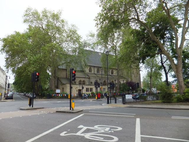 St Saviour Church St George's Square Pimlico