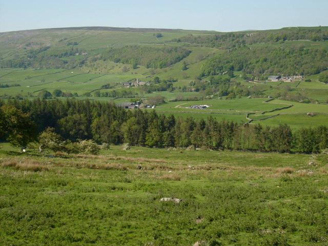 View towards Marrick Priory
