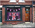 SJ9690 : Jubilee window display by Bob Abell