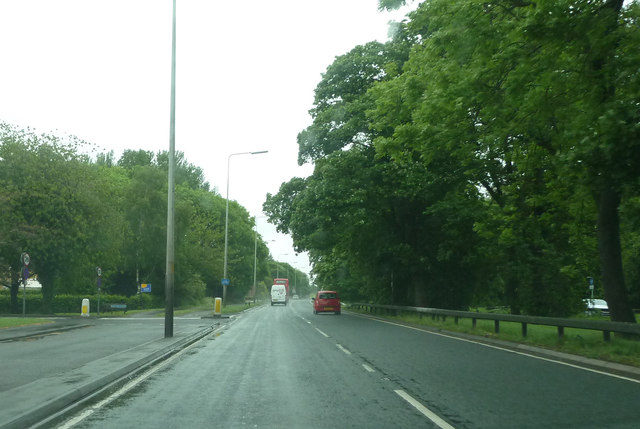 A59 by junction with Ratten Lane