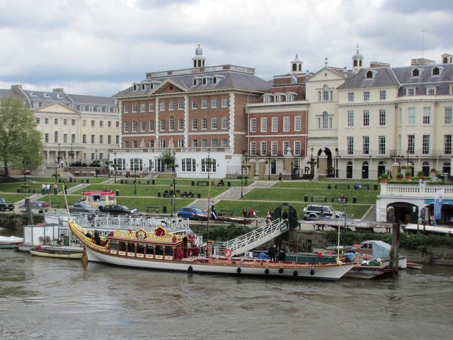 Royal Barge 'Gloriana' at Richmond