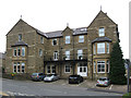 SK0482 : Chinley - former hotel on Green Lane by Dave Bevis