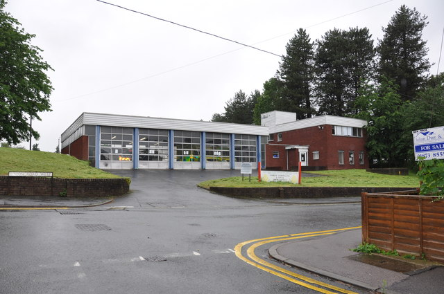 Abergavenny Ambulance Station on Union Road West