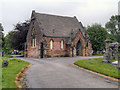 SJ6899 : Chapel, Leigh Cemetery by David Dixon