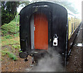 SO9525 : Heavy Rain at Cheltenham Racecourse Station by Rob Newman