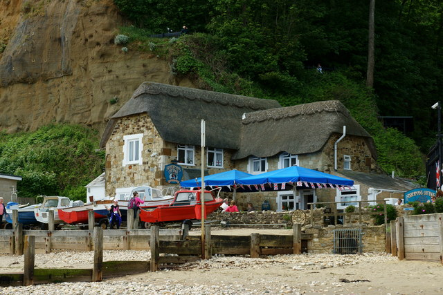 The fisherman 39 s cottage shanklin isle peter trimming cc by sa 2 0 geograph britain and - The fishermans cottage ...