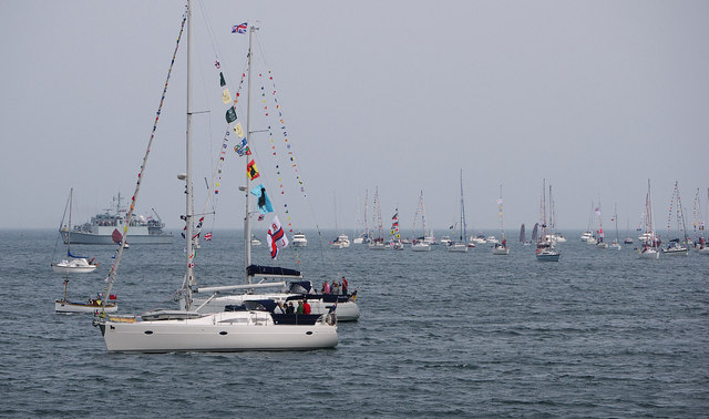 Yachts and boats, Bangor Bay
