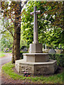 SJ6899 : Leigh Cemetery War Memorial (Cross of Sacrifice) by David Dixon