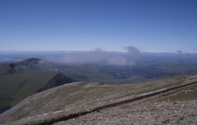 Snowdon: looking north-west from Bwlch Glas