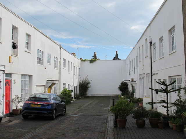 Mews off Eastern Road opposite Church Place, BN2