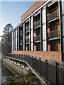 SP2054 : New backstage accommodation, Royal Shakespeare Theatre by Robin Stott