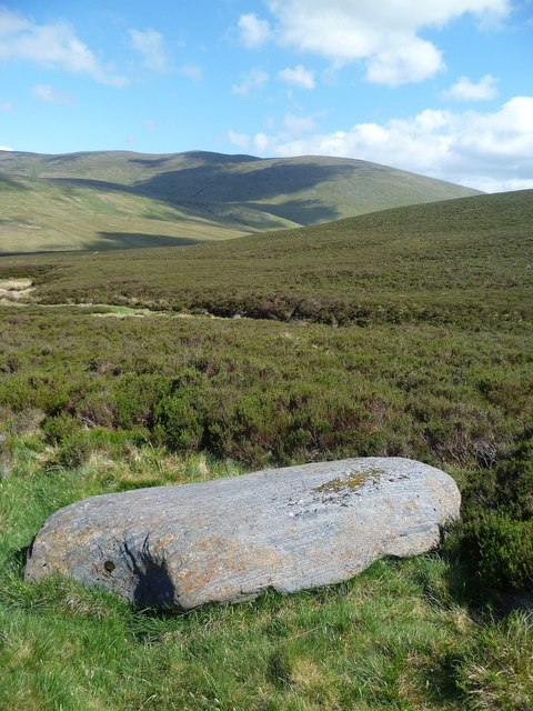 Rock above Salehow Beck