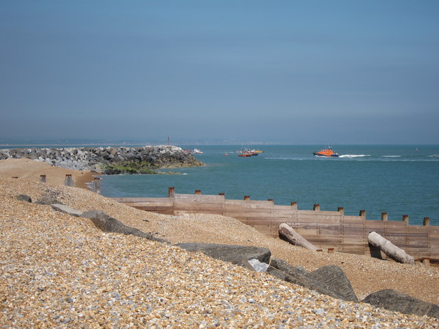 Groynes at Langley Point