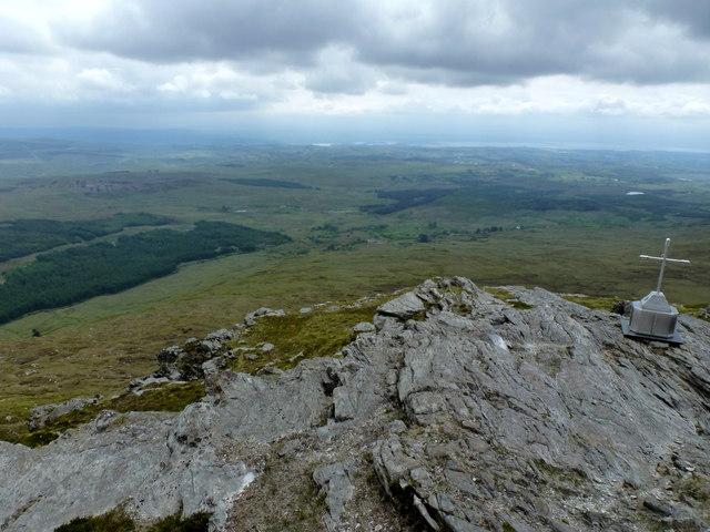 Top of Carnaween Mountain