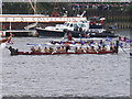 TQ2777 : Diamond Jubilee Pageant - Maori war canoe (waka taua) by David Hawgood