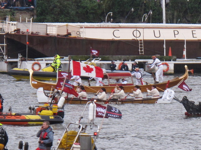 Diamond Jubilee Pageant - Canadian canoe, gondola