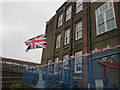TQ3684 : Upside down Union Flag #34 by Ian S