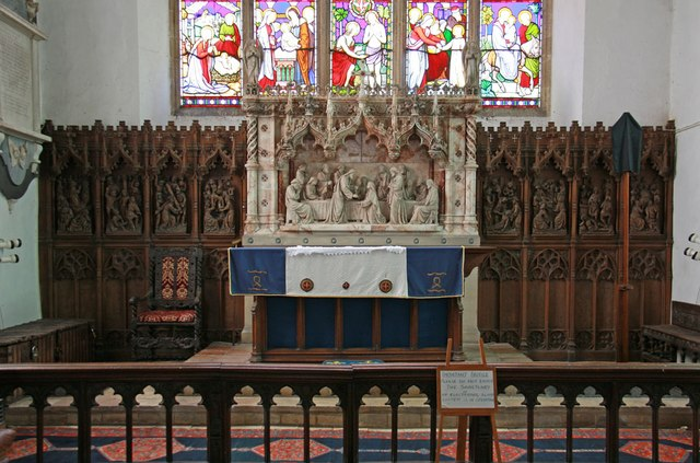 St George, Stowlangtoft - Sanctuary