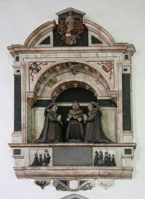 St George, Stowlangtoft - Wall monument