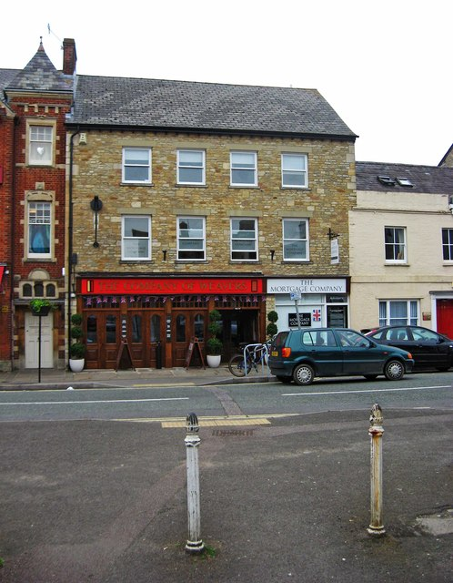 The Company of Weavers (1), 31 Market Square, Witney