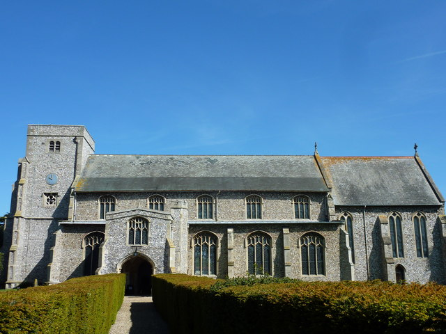 All Saints church, Thornham