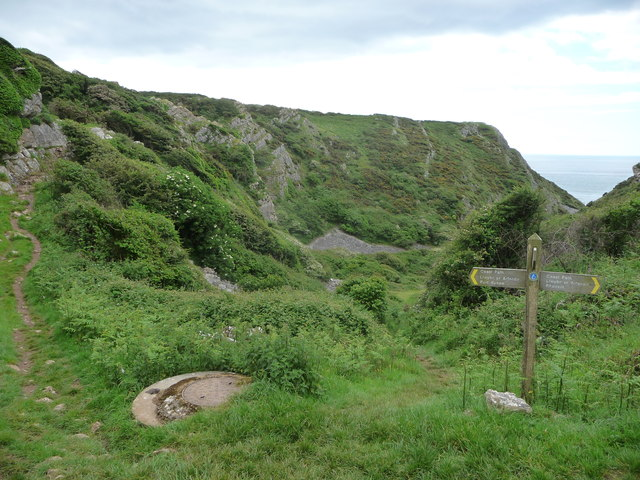 Part of the Coast Path on Gower