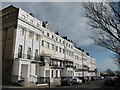 TQ3303 : Sussex Square, BN2 (east side, south of Eastern Road) by Mike Quinn