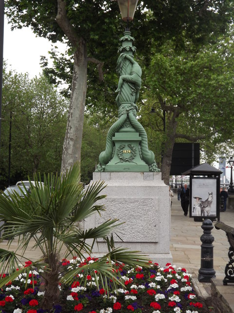 Victorian Lamp Post, Cadogan Pier
