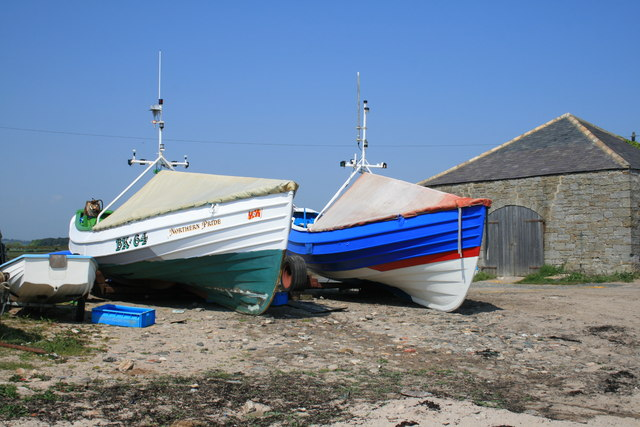Cobles at Boulmer