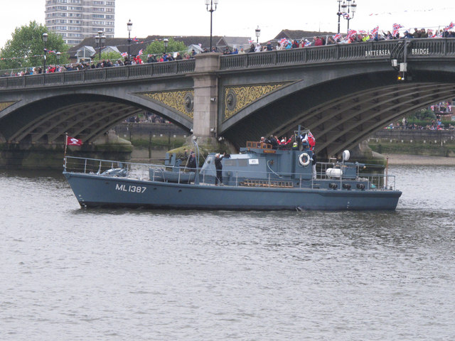 Diamond Jubilee Pageant - ML137 HMS Medusa