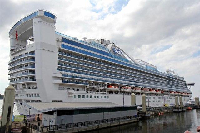 Caribbean Princess, Cruise Terminal, Liverpool