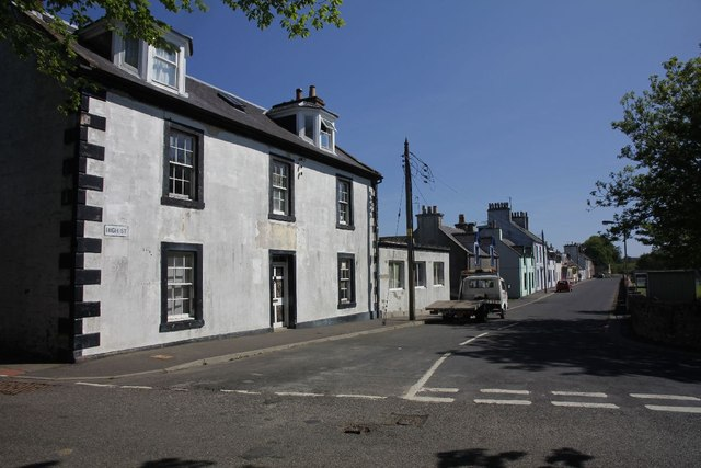 High Street Garlieston