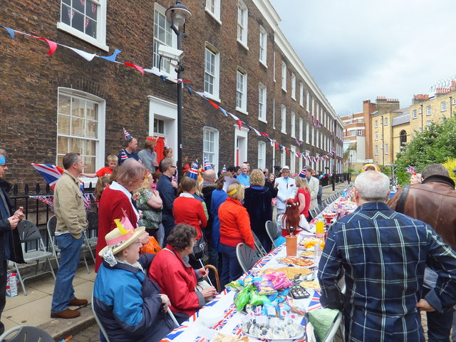 Bessborough Place Diamond Jubilee Street Party