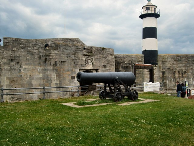 Cannon and Lighthouse - Southsea Castle