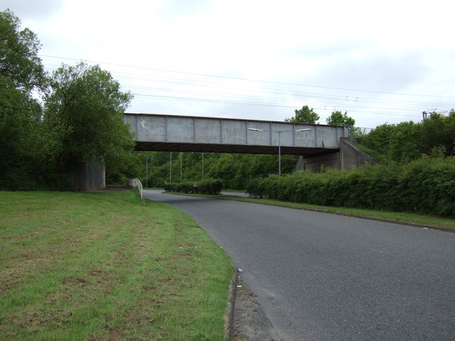 Railway bridge over Nelson Drive