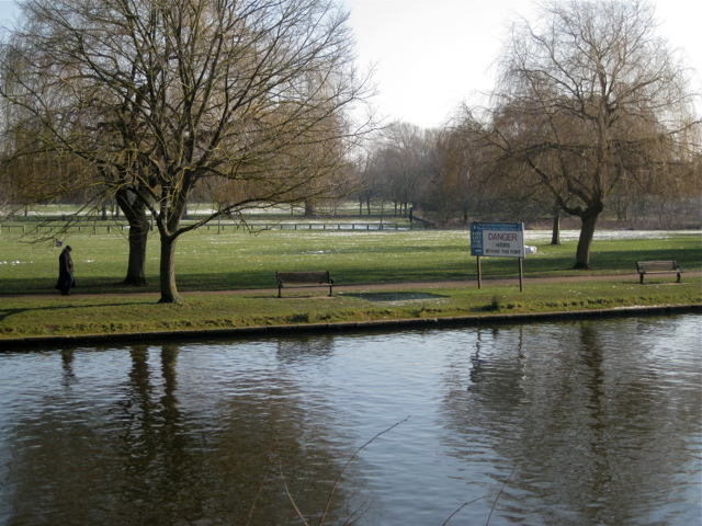 Southern end of the Recreation Ground