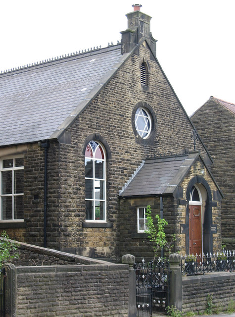 Chinley - Turnpike Chapel on Buxton Road