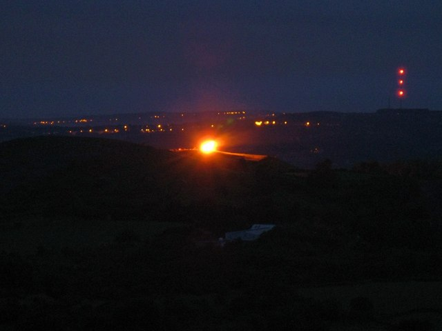 Diamond Jubilee Beacon on Carreg Dwfn