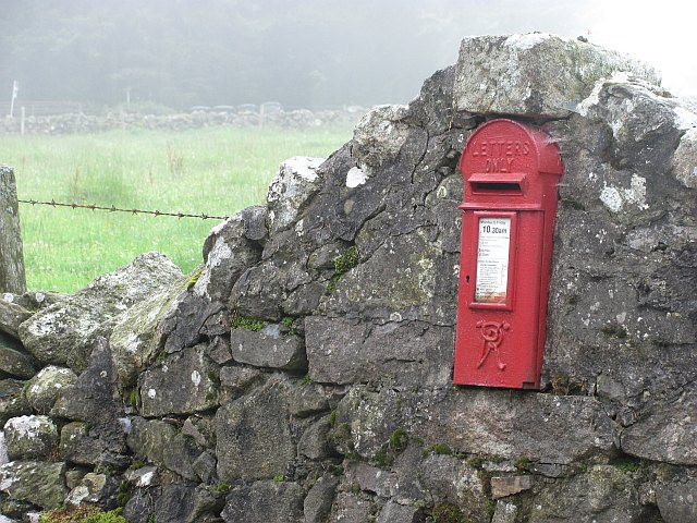 19th century post box, Cookney