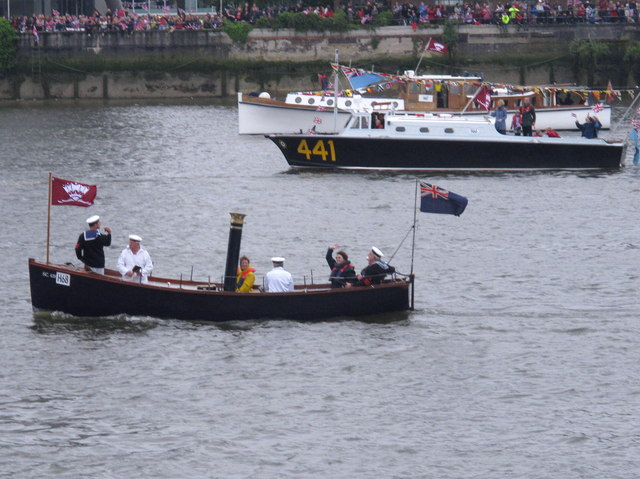 Diamond Jubilee Pageant - Admiralty Steam Cutter SC438