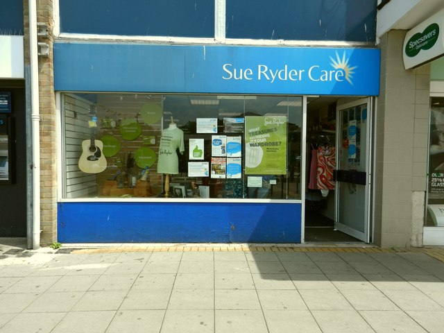 The Sue Ryder Charity Shop, Woodley Precinct