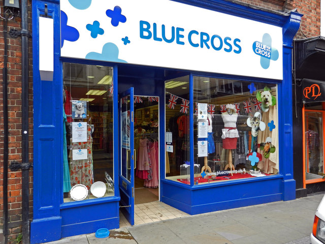 Blue Cross Charity Shop, Duke Street, Henley on Thames
