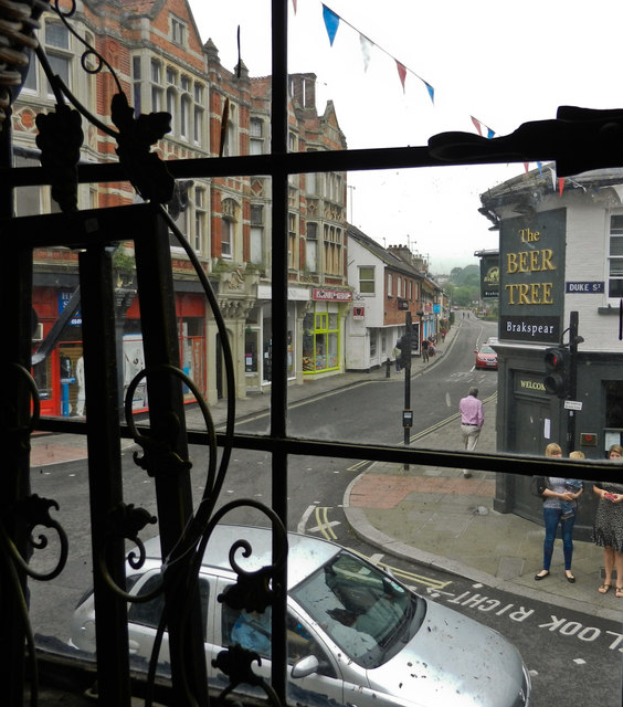 Greys Road as seen from Tudor House on Duke Street