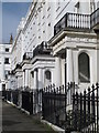TQ3303 : Porches at Sussex Square, BN2 (east side, north of Eastern Road) by Mike Quinn