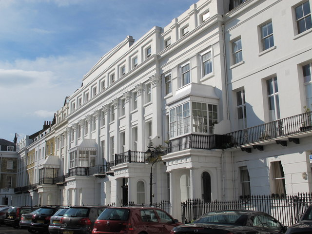 Sussex Square, BN2 (north side)