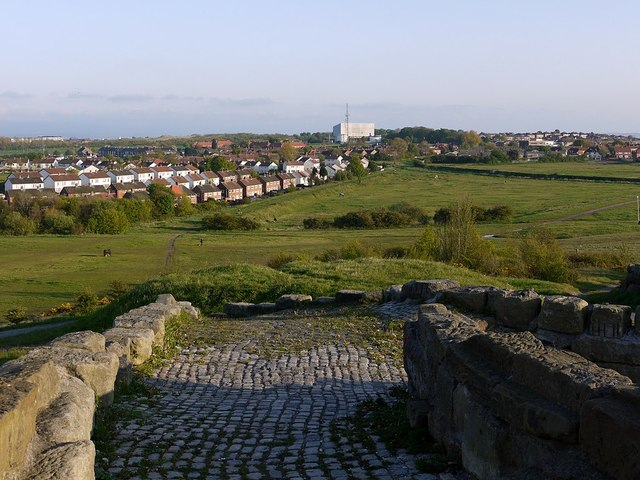 View south from 'The Fortress', Whitehills