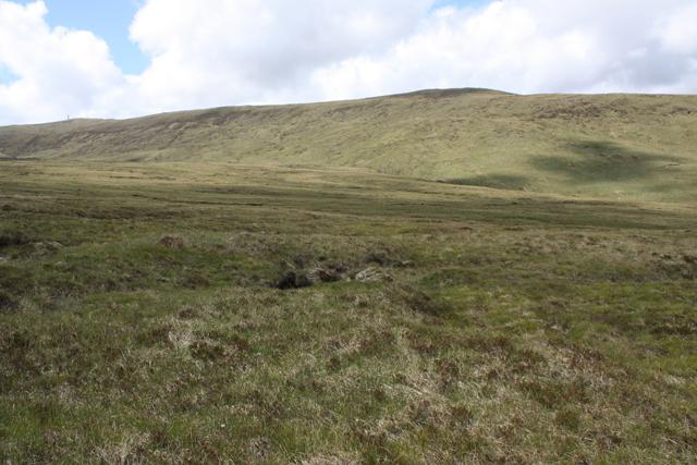 Moorland west of Cnoc an Fhreiceadain