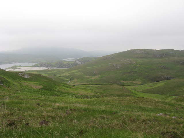 Liundale on west coast of Jura