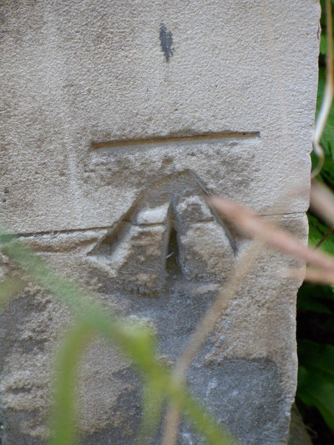 Benchmark on the Church of St. Edward King and Martyr, Cambridge