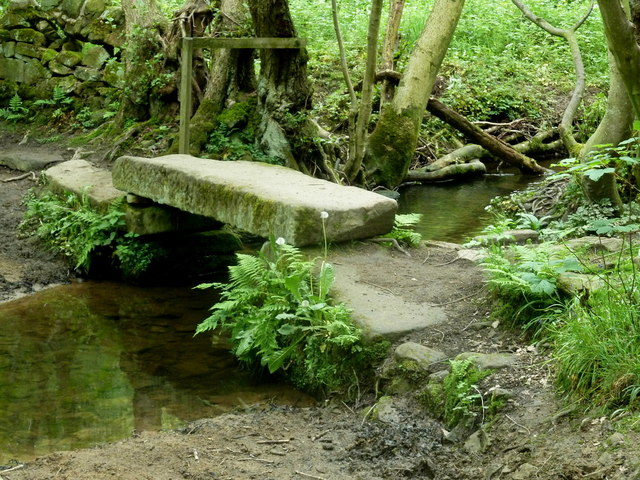 Footbridge over Smalley Brook